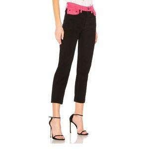 Rag & Bone Black/Pink Ash Jeans